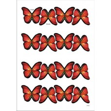 Wafer Paper Edible Precut Butterflies (16 Pieces)