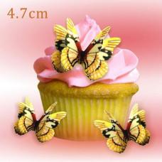 Wafer Paper Edible Precut Butterflies (24 Pieces)