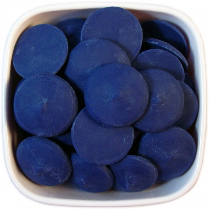 Dark Blue Colored Chocolate