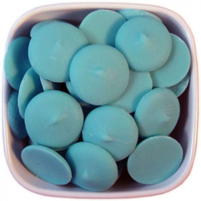 Blue Colored Chocolate