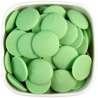 Green Colored chocolate