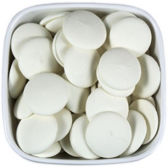 Super White Colored chocolate (Please contact us for large orders - we have a limit for shipping weight)
