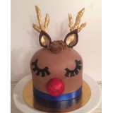 Rudolph Cake Class - November 18th 2017 10AM to 4PM with Nancy Brisson