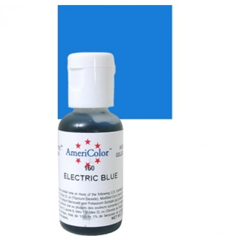 Electric Blue Soft Gel Paste from Americolor