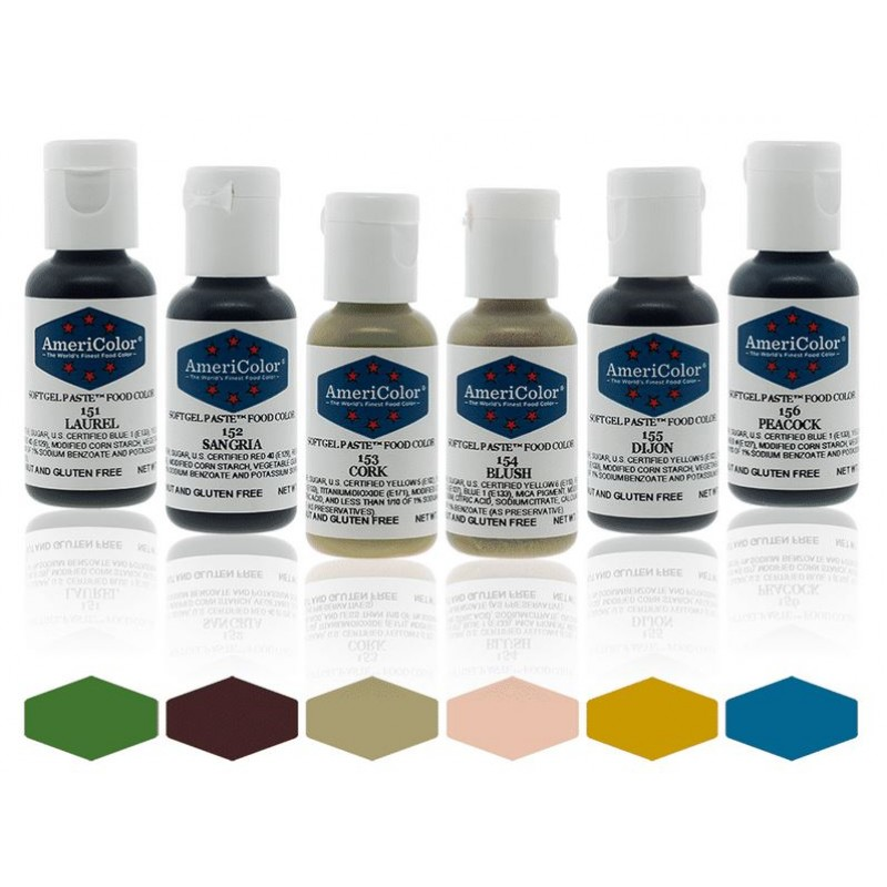 Soft Gel Paste from Americolor