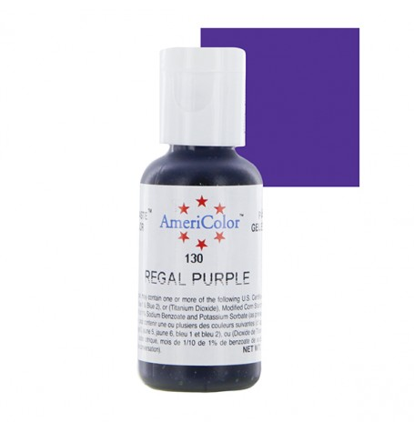 Regal Purple Soft Gel Paste from Americolor
