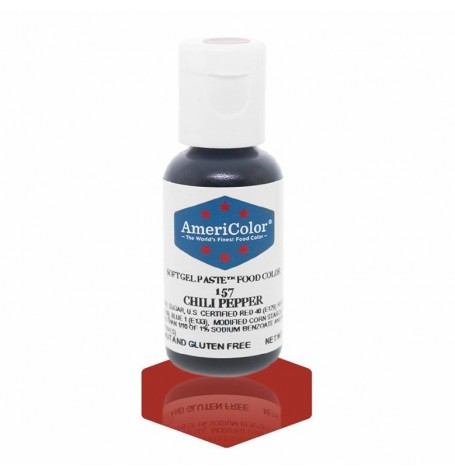 Chili Pepper Soft Gel Paste from Americolor
