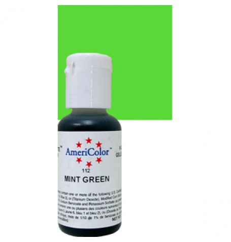 Mint Green Soft Gel Paste from Americolor