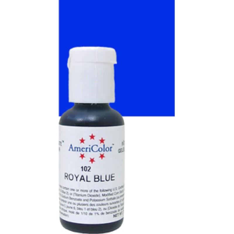 Blue Soft Gel Paste from Americolor