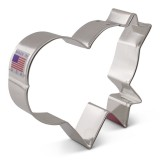 "LilaLoa's Banner Heart Cookie Cutter 3 1/2"" x 4"""