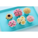 Buttercream Flowers Beginners Class - March 24th 10:00 to 3:00PM With Darlene from Make Fabulous Cakes