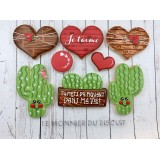 Cookie Decorating Class (Valentine Theme) - February 4th 2018 9AM to 5PM with Karine Lemonnier
