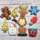 Cookie Decorating Class (Christmas Theme) - Decembre 10th 2017 9AM to 5PM with Karine Lemonnier
