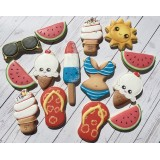 Cookie Decorating Class (Beginner) - July 7th 2018 with Karine Lemonnier
