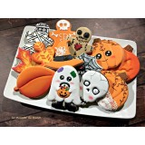 Cookie Decorating Class (Fall & Halloween Theme) - Octobre 1st 2017 9AM to 5PM with Karine Lemonnier