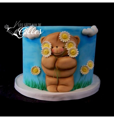 Cute Teddy Bear Cake (Beginner's level) - February 3rd 2018 10:00 to 4:00PM With Les Gâteaux de Gilles