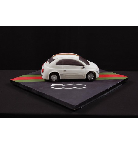 Sculpted Cake Class Fiat 500 - September 16th with Les Gâteaux de Gilles 9:00 to 5:00PM