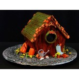 Fall Birdhouse Cake - September 29th 2018 10:00 to 5:00PM With Les Gâteaux de Gilles