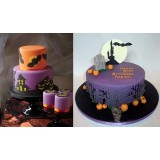 Basic Fondant Cake Class 101 - October 22nd 2017 9AM to 4PM with Nancy Brisson (Halloween Theme)
