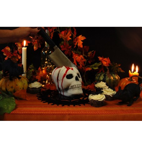 Halloween Skull Cake - October 26th 2017 6:30PM with Gilles Leblanc