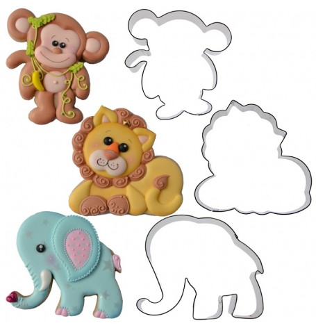 Jungle Cookie Cutter Set by Sweet Elite