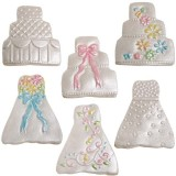 Cookie Cutter Texture Set- Mini Wedding