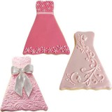 Cookie Cutter Texture Set - Formal Dress