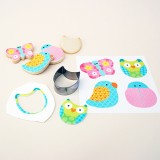 Cutie Cupcake Set - Fluttering Friends Edible Images