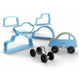 Bakelicious Car Cookie Cutter and Feet Set