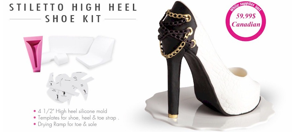 High Heel Shoe Kit