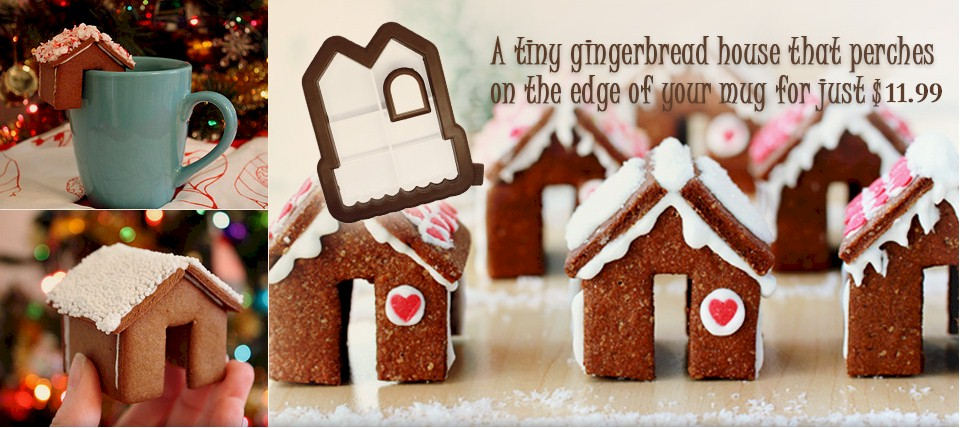 Little Gingerbread house for your mug