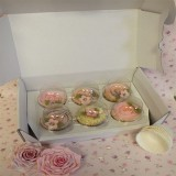 Cupcake Box - Postal Box holds 6 cupackes from Cakes Away (Pick Up Only)