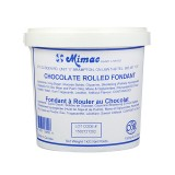 Mimac Rolled Fondant Brown/Chocolate 1 Kg