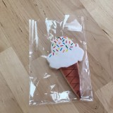 Cellophane Cookie Bags 4.75 x 6.67 Inch Flat Pack of 25