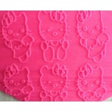 Fondant Impression Rolling Pin Hello Kitty Texture Small