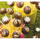Bees Chocolate Mold (Package of 48)