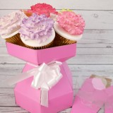 Cupcake Bouquet Box (Pink)