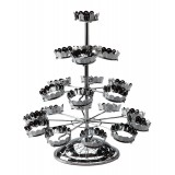 Revolving Four Tier Cupcake Stand