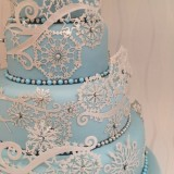 Cake Lace Mat Frozen Crystal
