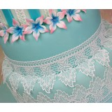 Cake Lace Mat Peacock