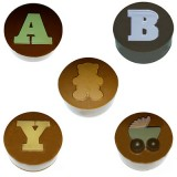 Cookie Chocolat Mold - Baby Letters