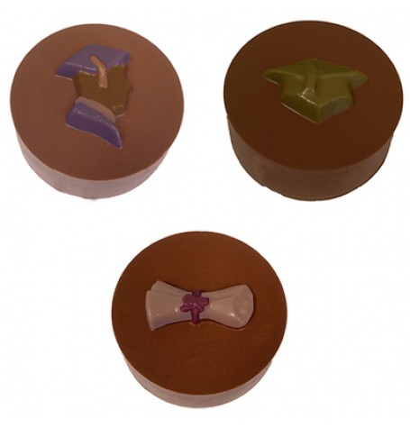 Cookie Chocolat Mold - Graduation