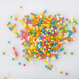 Rainbow Crispies Pearls 3mm