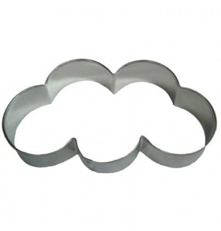 Cloud / Olympic Rings Cookie Cutter 5""