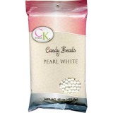 Candy Beads 7mm Pearl White (16oz)