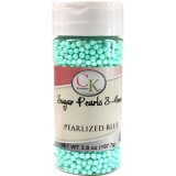 Sugar Pearls 3-4mm Pearlized Blue