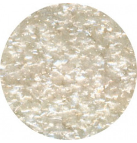 White Edible Glitter Flakes