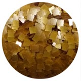 Gold Edible Glitter Squares