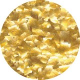 Gold Edible Glitter Flakes