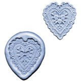 Silicone Mold Lace Heart